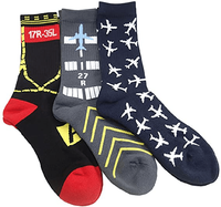 Men's Aviator Socks | Set of 3