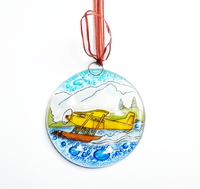 Floatplane Suncatcher Ornament