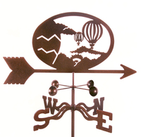 Hot Air Balloon Weathervane