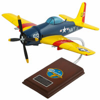 F8F Bearcat Model Airplane