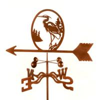 Heron Weather Vane