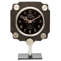 Metal Altimeter Mantel Clock <font color=red>Sorry Sold Out</font>
