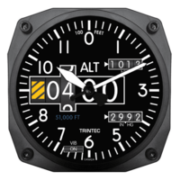 Modern Altimeter Wall Clock