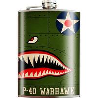 P-40 Warhawk Flask