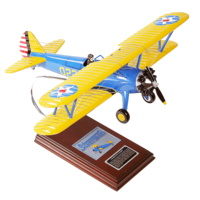 PT-17A Kaydet Stearman Model Airplane