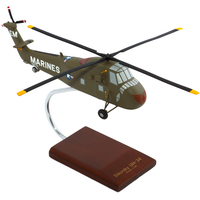UH-34D Seahorse USMC Model Helicopter