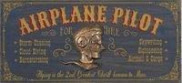 Aviation Signs & Pilot Plaques