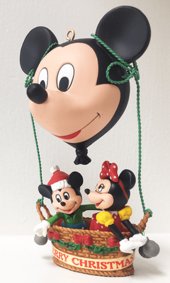 Mickey & Minnie Mouse Collectible Ornament <font color=red>28% Savings</font>
