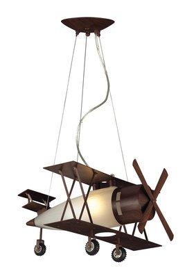 Biplane Pendant Light