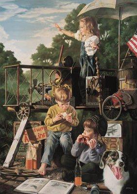 Kids Aviation Fine Art Print - Limited Edition