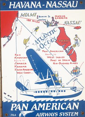 Pan American Airways Sign