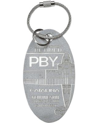 PBY Catalina Airplane Skin Tag