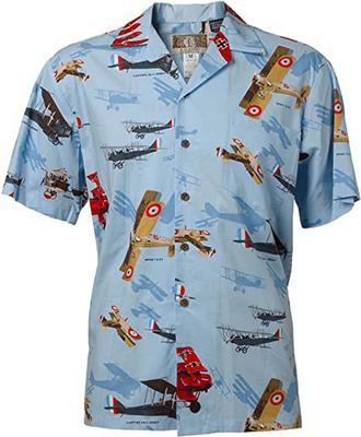 WW I Biplanes Hawaiian Shirt