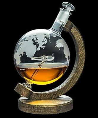 Warbird Airplane Decanter