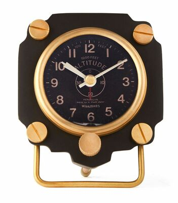 Altimeter Alarm Clock | Black <font color=red><b>Super Sale Item</font></b>