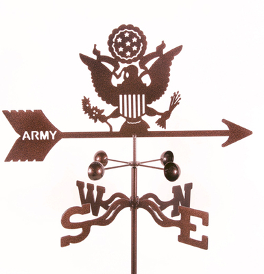 US Army Emblem Weather Vane - Traditional