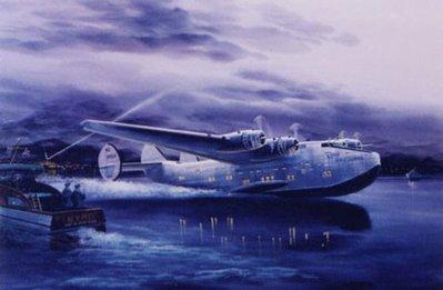 Dixie Clipper Airplane Print
