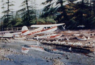 Cessna C-140 Airplane Art Print