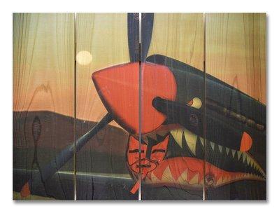 Tiger Shark Indoor Outdoor Art - Medium