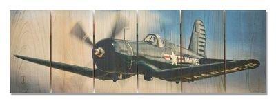 Corsair In Flight Indoor/Outdoor Art - Medium
