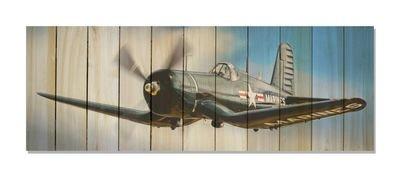 Corsair In Flight Indoor Outdoor Art - Large