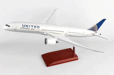 United 787-9 Dreamliner Model