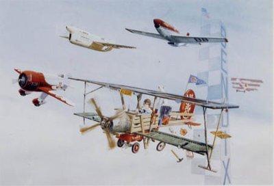 Child's Fantasy Airplane Print