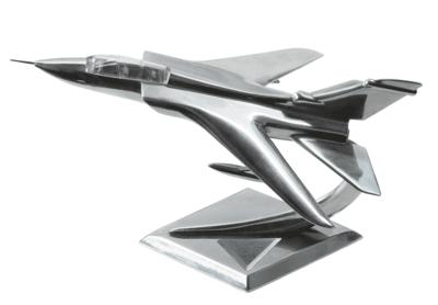 Tornado Aircraft Aluminum Sculpture