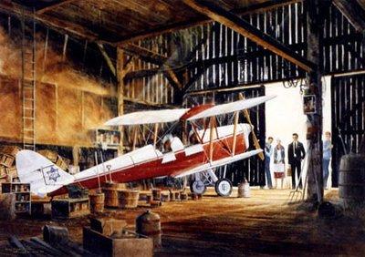 de Havilland Tiger Moth Airplane Art Print