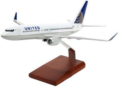 United B737 Model