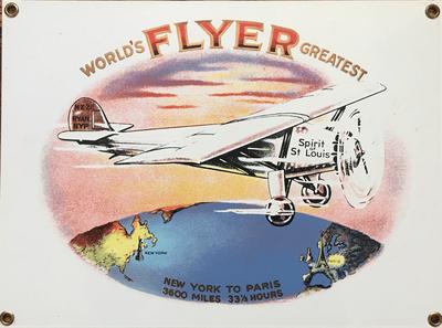 Spirit of St Louis | Greatest Flyer Sign