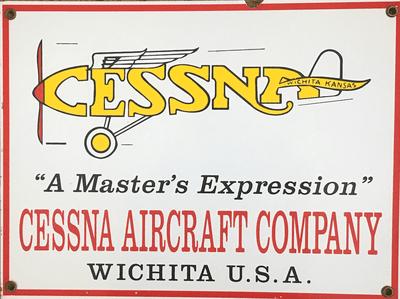 Cessna Aircraft Sign | Second