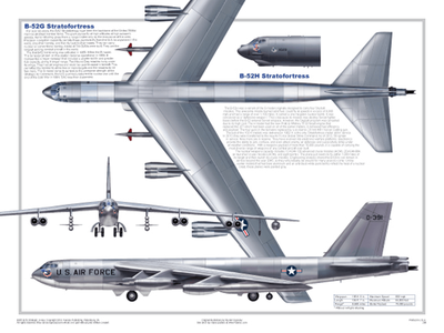 B 52 Stratofortress Poster | Laminated