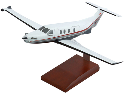 Pilatus PC 12 Model Airplane
