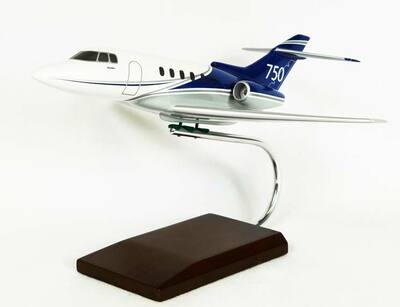Hawker 750 Model Airplane