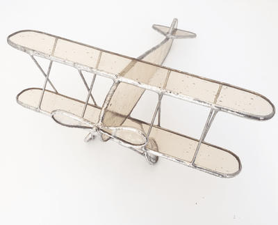 Stained Glass Airplane