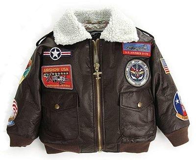Child's Brown Flight Jacket