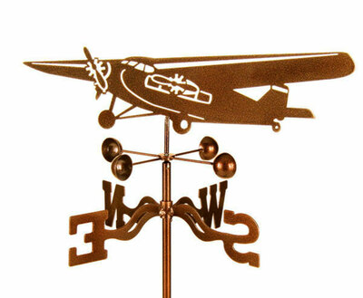 Tri-Motor Airplane Weather Vane