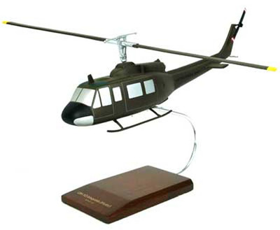 UH-1 Iroquois Model Helicopter