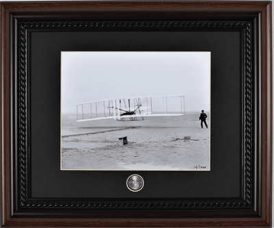 Wright Flyer Photograph Collectible