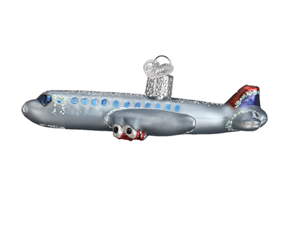 Passenger Jet Airplane Ornament <font color=red>50% Savings</font>