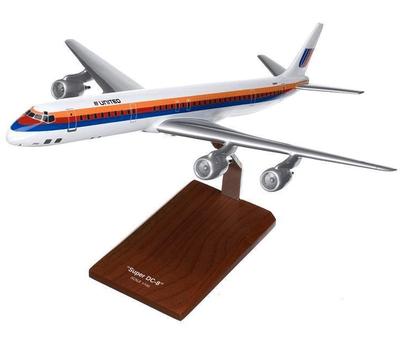 United DC-8 Model