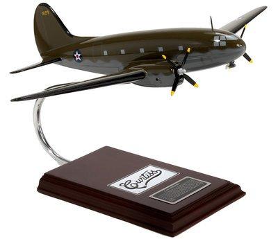 C-46 Commando Model Airplane