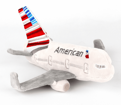 American Airlines Airplane Plush with Sound