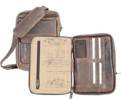 Leather Shoulder Tote Bag