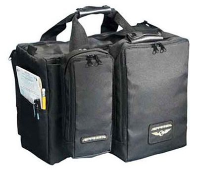 Pilot Bag - With Detachable Head Set Bag