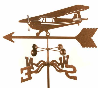 Taildragger Airplane Weather Vane