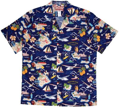 Seaplanes Hawaiian Islands Shirt