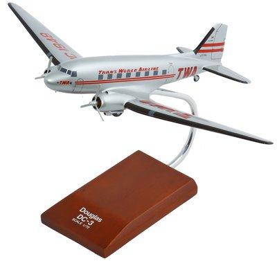 TWA DC-3 Model