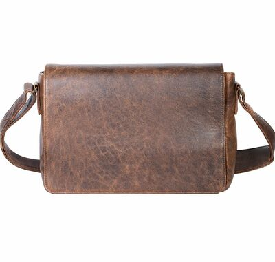 Aero Squadron Leather Messenger Bag